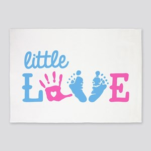 Little Love 5'x7'Area Rug