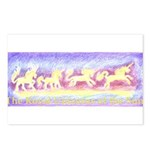 The Royal Unicorns of the Sun Postcards (Package o