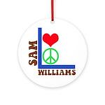 My 60's Brand Logo Ornament (Round)
