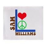 My 60's Brand Logo Throw Blanket