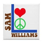 My 60's Brand Logo Tile Coaster