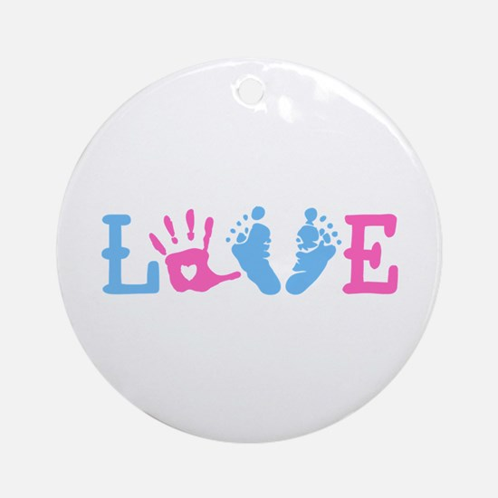 Love Baby Ornament (Round)
