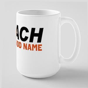 Best Coach ever Large Mug