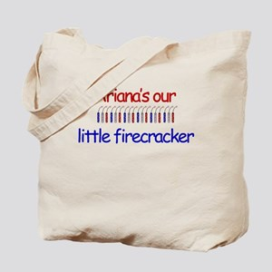 Ariana's Our Little Firecrack Tote Bag