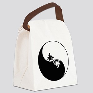 yin and yang Canvas Lunch Bag