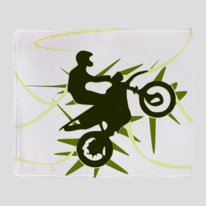 Biker Throw Blanket