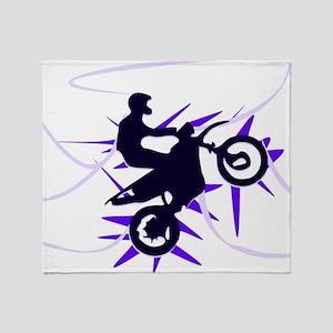 Biker Throw Blanket