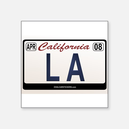 california_licenseplates-la Sticker