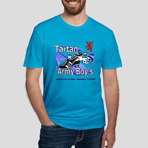 Tartan Army Boys Scotland Lion Crest T-Shirt