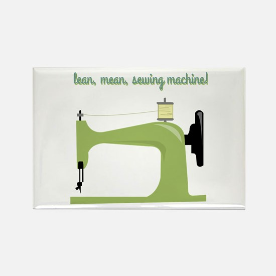 Lean, Mean Sewing Machine! Magnets