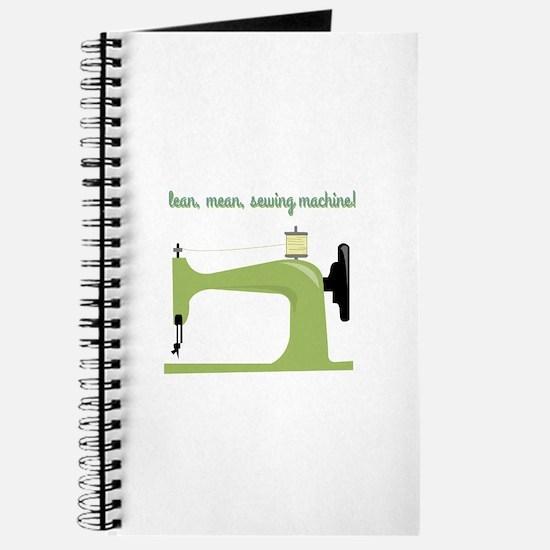 Lean, Mean Sewing Machine! Journal