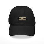 Save a horse, ride a cowboy Black Cap