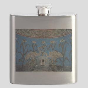 Mosaics mural Flask