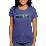 Montreal le soir Womens Tri-blend T-Shirt