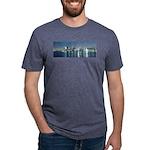 Montreal le soir Mens Tri-blend T-Shirt