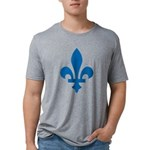 FleurLysQc1 Mens Tri-blend T-Shirt