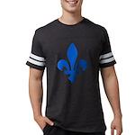 FleurLysQc1PMS293 Mens Football Shirt