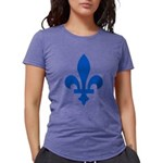 FleurLysQc1PMS293 Womens Tri-blend T-Shirt