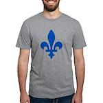 FleurLysQc1PMS293 Mens Tri-blend T-Shirt