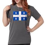 DrapeauQc1PMS293 Womens Comfort Colors Shirt
