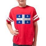DrapeauQc1PMS293 Youth Football Shirt