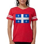 DrapeauQc1PMS293 Womens Football Shirt