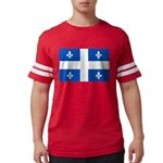 DrapeauQc1PMS293 Mens Football Shirt
