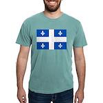 DrapeauQc1PMS293 Mens Comfort Colors Shirt