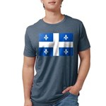 DrapeauQc1PMS293 Mens Tri-blend T-Shirt