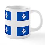 DrapeauQc1PMS293 20 oz Ceramic Mega Mug