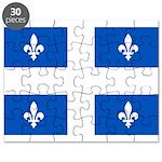 DrapeauQc1PMS293 Puzzle