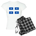 DrapeauQc1PMS293 Women's Light Pajamas