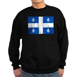 DrapeauQc1PMS293 Sweatshirt (dark)
