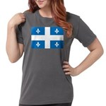 DrapeauQc1 Womens Comfort Colors Shirt