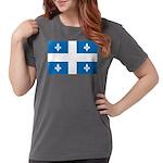 DrapeauQc1 Womens Comfort Colors Shirt