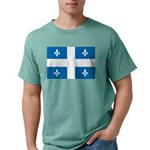 DrapeauQc1 Mens Comfort Colors Shirt