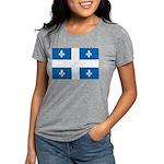 DrapeauQc1 Womens Tri-blend T-Shirt