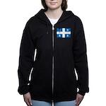 DrapeauQc1 Women's Zip Hoodie