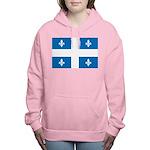 DrapeauQc1 Women's Hooded Sweatshirt