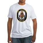 USS CHANDLER Fitted T-Shirt