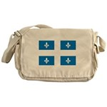 DrapeauQc1 Messenger Bag