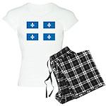 DrapeauQc1 Women's Light Pajamas