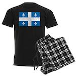 DrapeauQc1 Men's Dark Pajamas