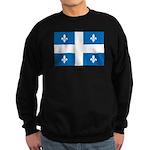 DrapeauQc1 Sweatshirt (dark)