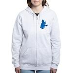 CarteQc2 Women's Zip Hoodie