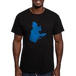 CarteQc2 Men's Fitted T-Shirt (dark)