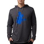CarteQc2PMS293 Mens Hooded Shirt