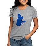 CarteQc2PMS293 Womens Tri-blend T-Shirt