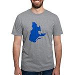 CarteQc2PMS293 Mens Tri-blend T-Shirt