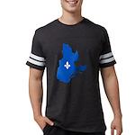 CarteQc1AvecLysPMS293 Mens Football Shirt